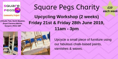 Upcycle Workshop (2 weeks) Fri 21st & Fri 28th June 19[£10]