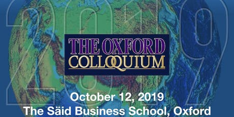 The Oxford Colloquium tickets