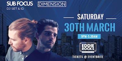 Sub Focus DJ Set & ID and Dimension