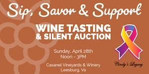 Sip, Savor & Support Wine Tasting & Silent Auction