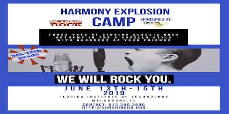 2019 Harmony Explosion Camper Registration tickets