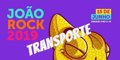 Transporte ida e volta para o Festival João Rock 2019