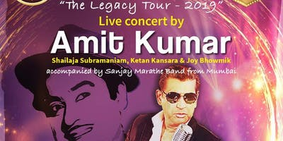 "AMIT KUMAR @ OLDHAM MANCHESTER - ""THE LEGACY TOUR 2019\"" - HINDI"