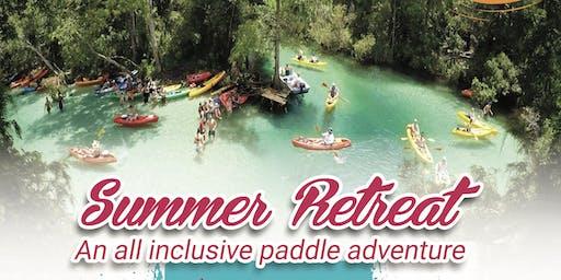 Summer retreat All inclusive paddle adventure