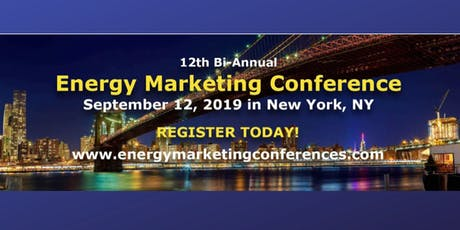 Energy Marketing Conference 12, New York, NY tickets