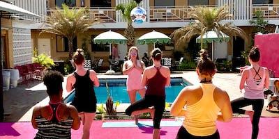 Pool-Party Yoga!
