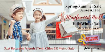 Twin Cities NE Metro Just Between Friends Sale