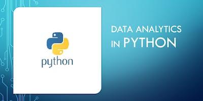 Data Analytics in Python Training : Scipy, Numpy, Pandas, Matplotlib ( 4 Hours Live Online)-Newcastle