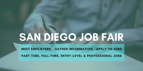 San Diego Job Fair - November 6, 2019 Job Fairs & Hiring Events in San Diego, CA tickets