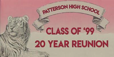 Patterson High Class of '99 - Twenty Year Reunion