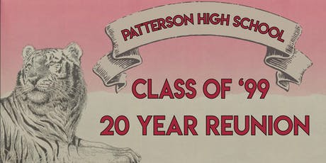 Patterson High Class of '99 - Twenty Year Reunion tickets