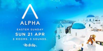 ALPHA CLUB - Easter Sunday - Sunday April 21st