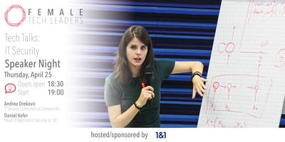 Female Tech Leaders Speaker Night -Tech Talks: Internet Security