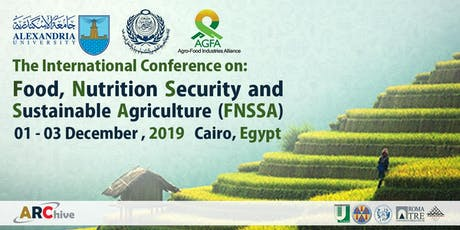 Food, Nutrition, Security and Sustainable Agriculture (FNSSA) tickets