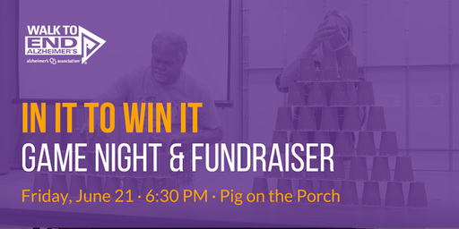 In It To Win It: Game Night and Fundraiser