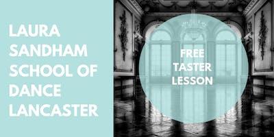 Free Ballroom Class Taster Session