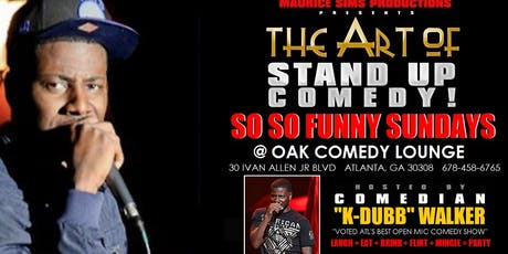 The Art of Stand Up Comedy @ Oak Lounge tickets