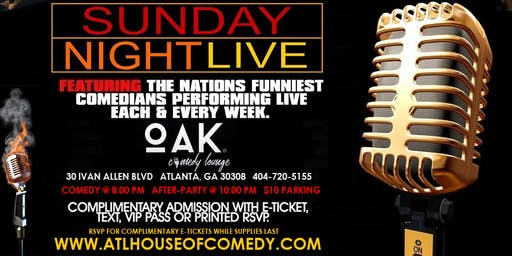 Sunday Comedy in the ATL