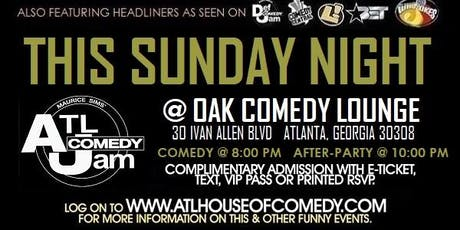 ATL's Kings of Funny @ Oak Lounge tickets