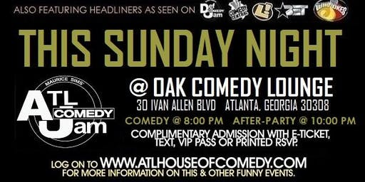 Sunday Comedy at Oak Atlanta
