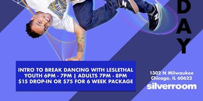 Intro To Breakdancing with Leslethal