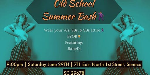 0a8a43267 Old School Summer Bash! It's a throwback to the 70's, 80's, ...
