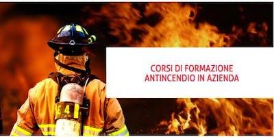Corso antincendio basso rischio