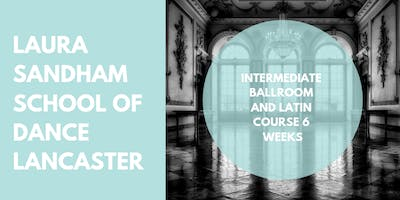 Intermediate Ballroom and Latin Course 6 weeks