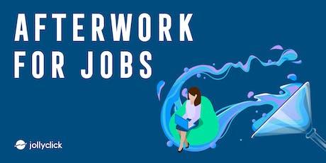 Afterwork for jobs billets