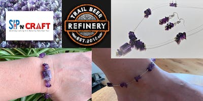 Make Your Own Amethyst Floating Set - April 23 - Trail Beer Refinery