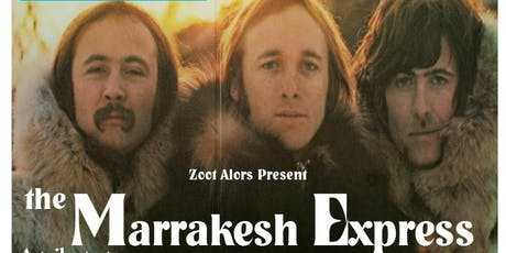 Marrakesh Express  A tribute to the Byrds , Crosby, Stills, Nash and Young. tickets