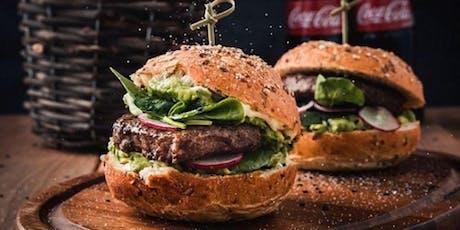 Burgers! Burgers! Burgers! with Paul Harding tickets