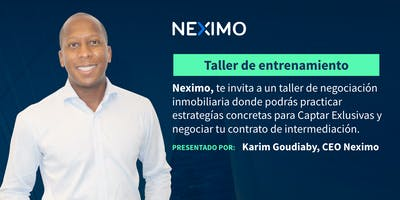 Taller de negociación inmobiliaria  - Puebla