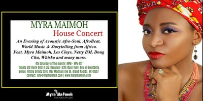 Myra Maimoh House Concert