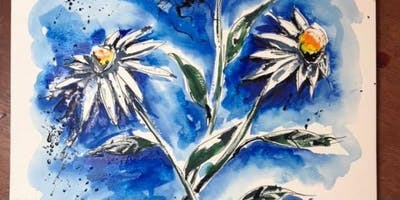 Adults Popup Painting Workshop & Prosecco