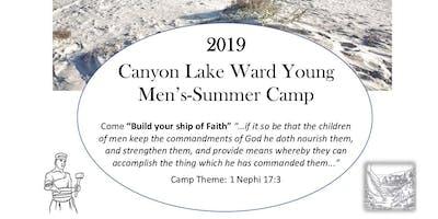 Canyon Lake Ward Young Men's Summer Camp