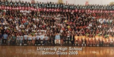 UHS class of 2009 high school reunion tickets