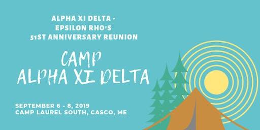 Alpha Xi Delta - Epsilon Rho's 51st Reunion