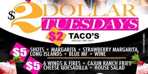 $2 Tuesdays at Twelve73 Tapas Grille
