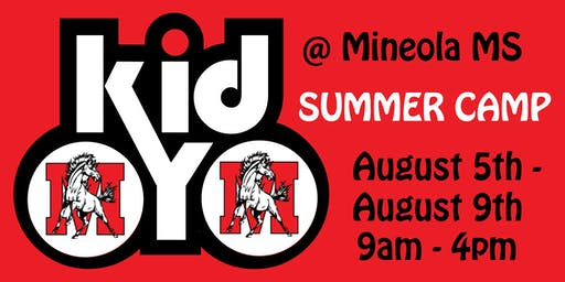 kidOYO Summer Camp [@Mineola MS] August 5th - August 9th