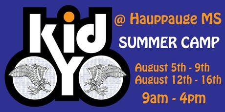 kidOYO Summer Camp [@Hauppauge MS] August 5th - August 9th tickets