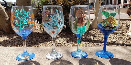 Wino Time Wine Glass Painting at LDV Winery August 24th