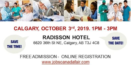 Calgary Healthcare Profession Job Fair - October 3rd, 2019 tickets