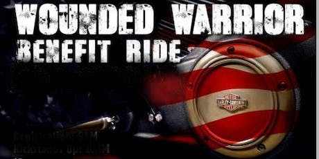 Wounded Warrior Benefit Ride tickets