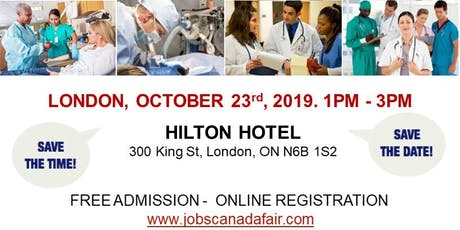 London Healthcare Profession Job Fair - October 23rd, 2019 tickets