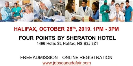 Halifax Healthcare Profession Job Fair - October 28th, 2019 tickets
