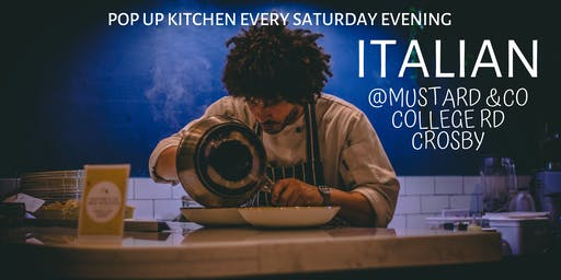Cibo Italian Pop Up Every Saturday Evening