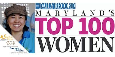 Top 100 Women in Maryland Celebration! - Bunnag Dental Associates