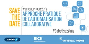 Workshop Automatisation Collaborative, par Schunk,...