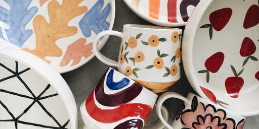Paint Your Own Pottery at Tapped